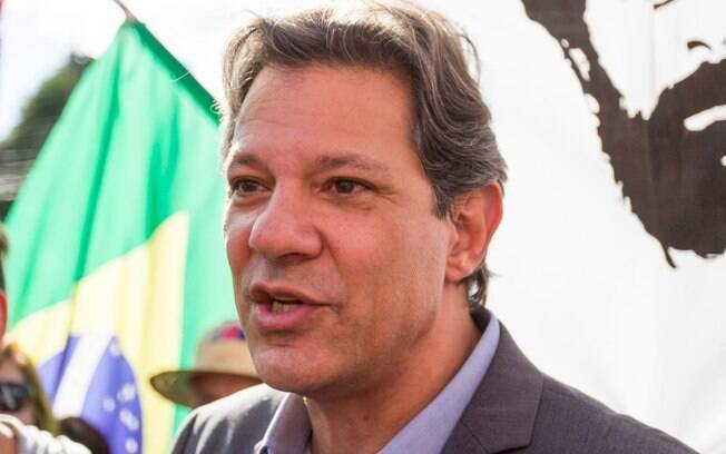 Fernando Haddad foi condenado a 4 anos e 6  meses de prisão