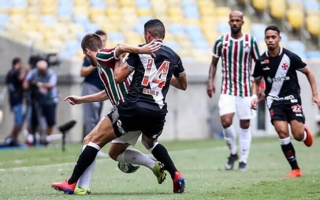 Danilo marcou o gol do Vasco, campeão da Taça Guanabara
