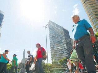 Moradores de Belo Horizonte sentiram na pele o calor de janeiro