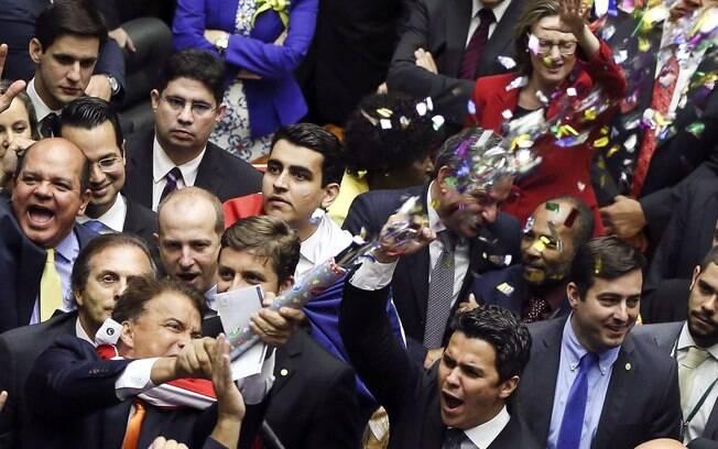 Posicionamento favorável ao impeachment de Dilma Rousseff lidera votação deste domingo. Foto: Marcelo Camargo/ Agência Brasil - 17.04.16