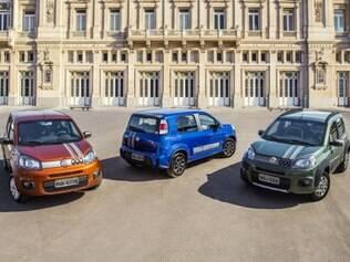 Linha 2015 do Fiat Uno Sporting