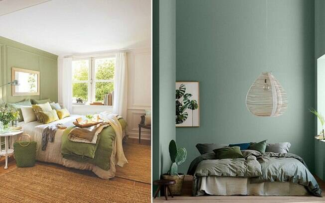 De acordo com a especialista, o verde é a cor que mais transmite equilíbrio e tranquilidade, mas azuis claros, tons de branco e tons pastéis também são boas opções para quem quer um ambiente propício para relaxar