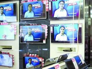 Não convence. Programas na TV são exibidos em dois horários, mas audiência cai com a propaganda