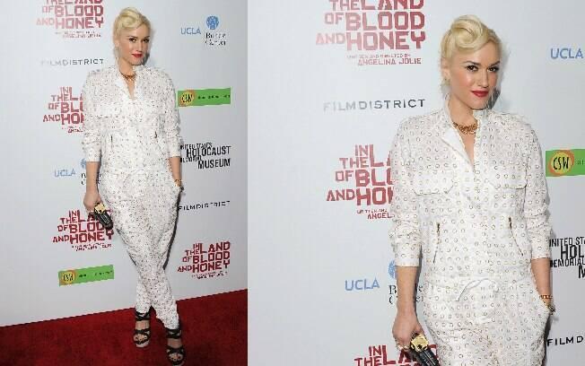 Gwen Stefani também prestigiou a preéstreia