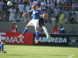 Primeiro jogo da final do Campeonato Mineiro 2014 , entre Atlético x Cruzeiro, no Estádio Independência, em Belo Horizonte