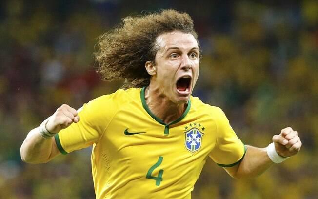 f053656508 David Luiz comemora o segundo gol do Brasil