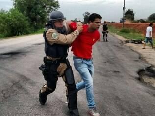 Polícia prende 25 manifestantes no Sul