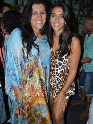 Regina Casé e a filha Benedita