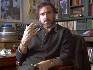 Eric Cantona se aposentou em 1997 após se destacar no Manchester United