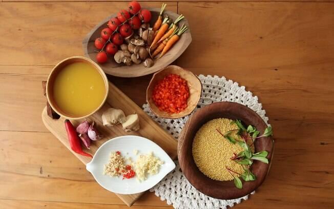 A cozinha profissional de Irina Cordeiro leva apenas alimentos brasileiros, com influência do Norte e Nordeste