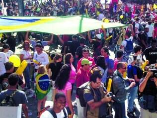 Mobilização. Uma das manifestações ocorridas em junho do ano passado em BH