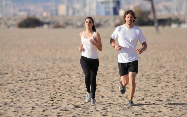 Corrida na areia é a líder em esforço e gasto calórico