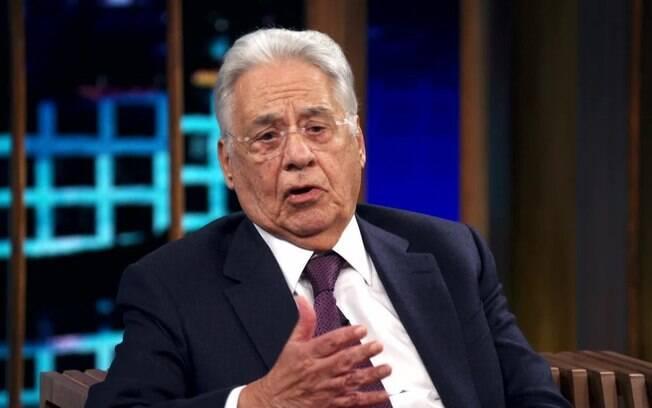 Ex-presidente esteve em programa e falou sobre situação do ministro da Justiça