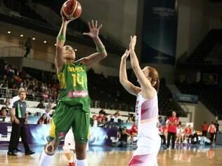 Érika é uma das jogadoras mais experientes da seleção brasileira no Mundial