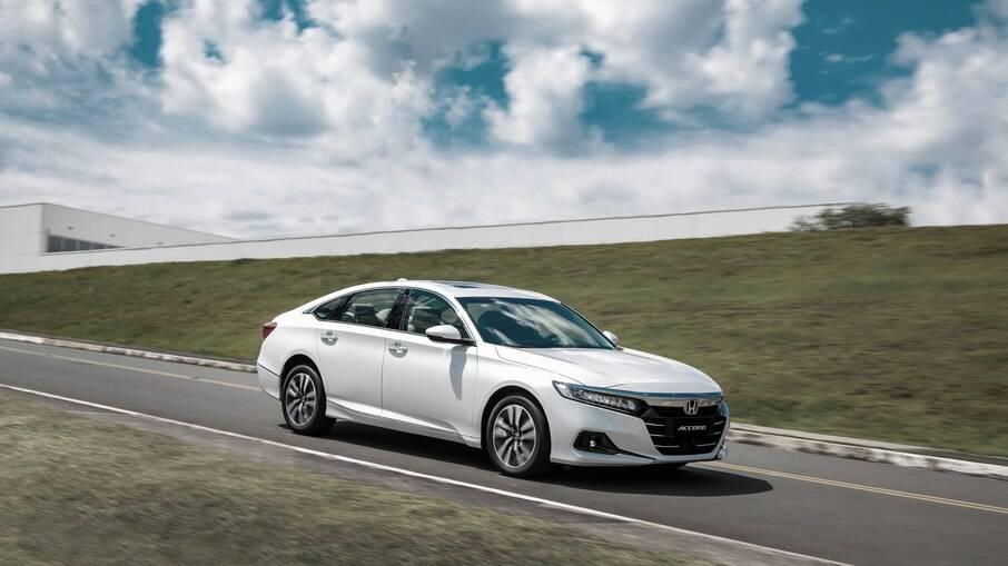Honda Accord híbrido, em 2021, será o único modelo eletrificado no Brasil e pode fazer até 17,6 km/l, diz a marca