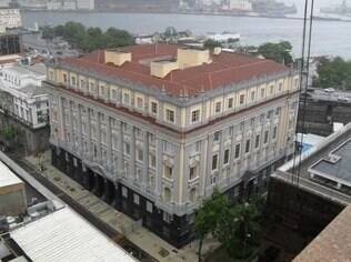 Antigo Palácio da Justiça, no Rio de Janeiro
