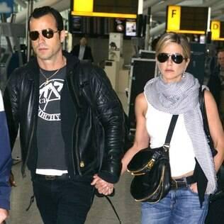 Jennifer Aniston e Justin Theroux: à espera da cegonha?