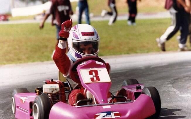 Bia iniciou no kart aos 8 anos