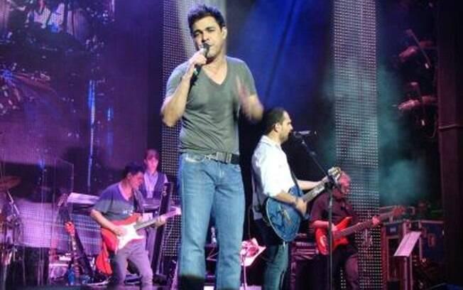 Zezé di Camargo e Luciano: nada ensaiado no palco