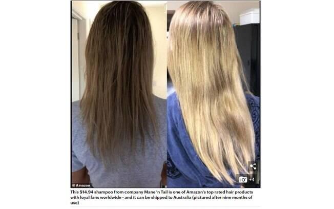 Diversas mulheres usaram shampoo de cavalo e afirmaram que o produto é 'milagroso' para o crescimento do cabelo