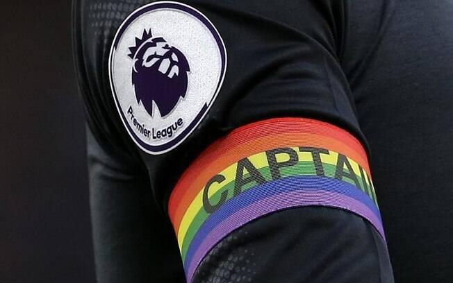 Ação da Premier League em apoio ao público LGBT