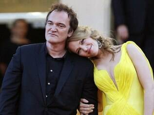 Tarantino e Uma Thurman engataram o romance depois dela romper com o noivo, em abril