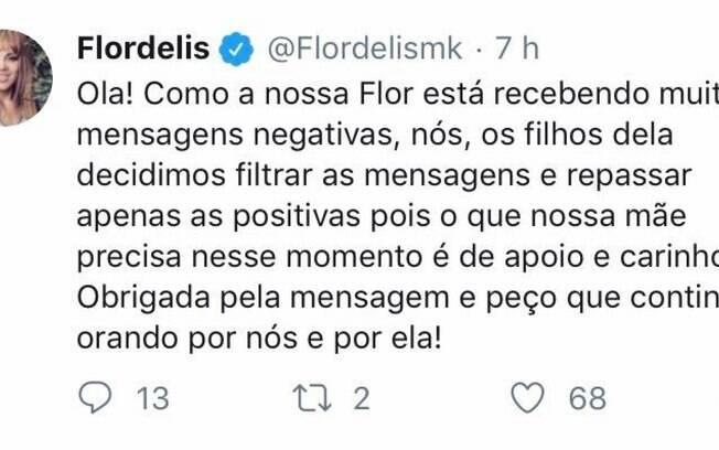 Filhos de Flordelis monitoram mensagens na rede social da deputada