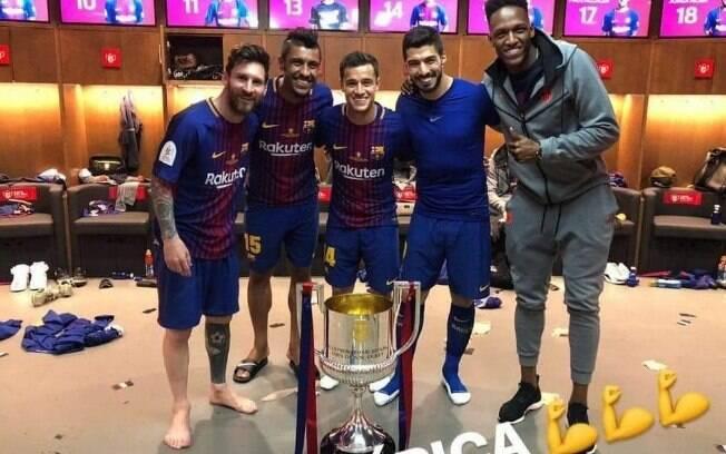Foto sugere que Lionel Messi tem seis dedos no pé direito