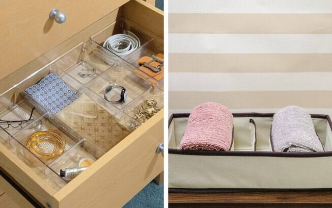 Ter um organizador de gaveta é uma ótima opção para deixas as gavetas organizadas e, assim, evitar que vire bagunça
