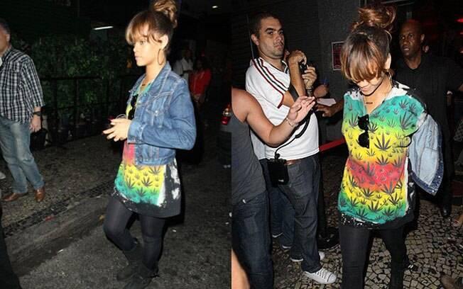 Rihanna: balada com a amiga Katy Perry
