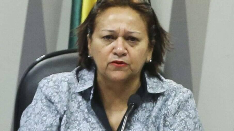 Fátima Bezerra (PT), governadora do Rio Grande do Norte
