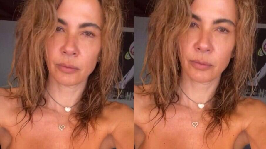 Luciana Gimenez curte Ibiza