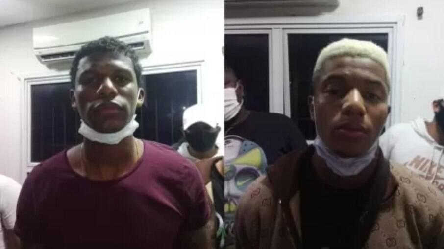 Arboleda e Neres foram flagrados em balada clandestina em SP