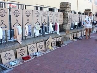 Ação que prevê doação de roupas para pessoas desfavorecidas chega a BH