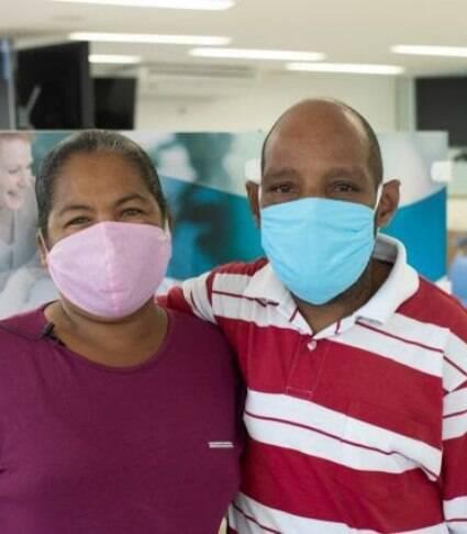 'Conheci meu marido na hemodiálise', conta doméstica