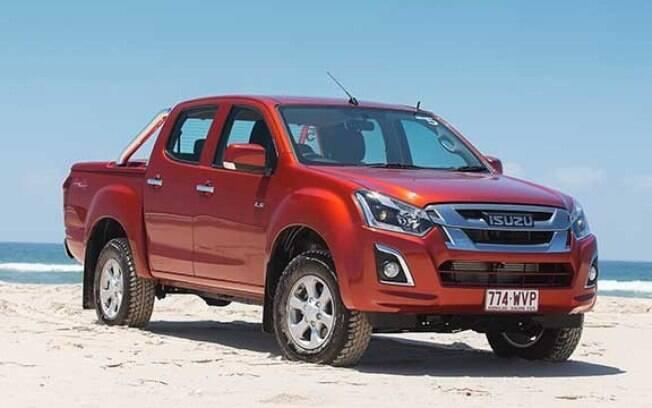 Isuzu D-Max: a primeira marca pouco conhecida dos brasileiros está na frente da Ford Ranger no ranking mundial