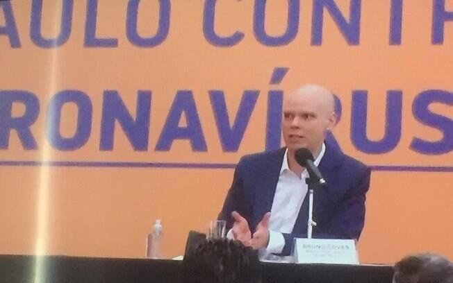 Prefeito Bruno Covas confirmou medida em entrevista