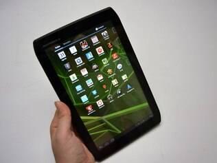 Xoom 2 Media Edition tem tamanho de tela intermediário