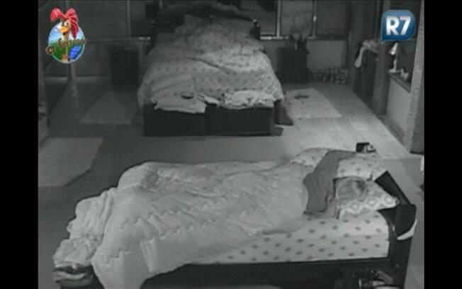 Peões dormem na casa sede