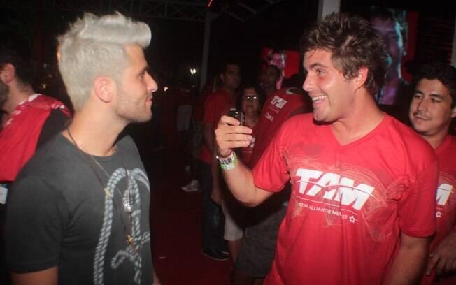 Os irmãos Gagliasso: Bruno e Thiago
