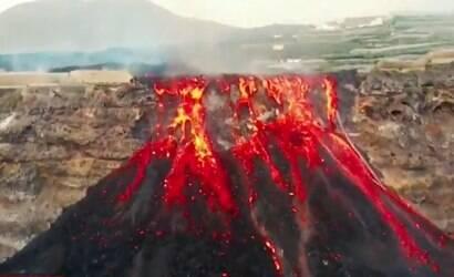 Cumbre Vieja: erupções do vulcão podem durar 9 meses