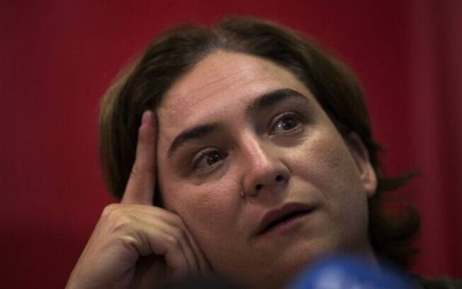 Ada Colau ficou conhecida como ativista antidespejos durante a crise espanhola