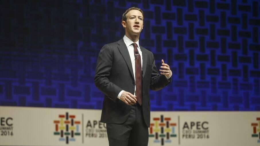 Fundador do Facebook, Mark Zuckerberg