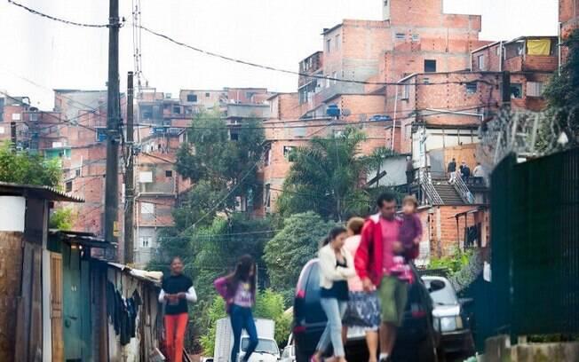 Favela da Maré, no Rio de Janeiro
