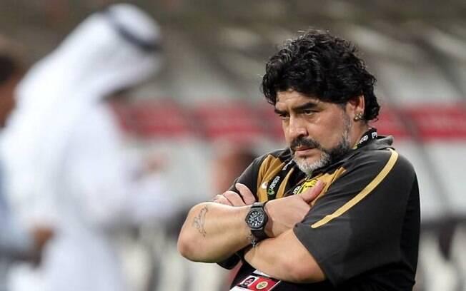 Maradona como treinador