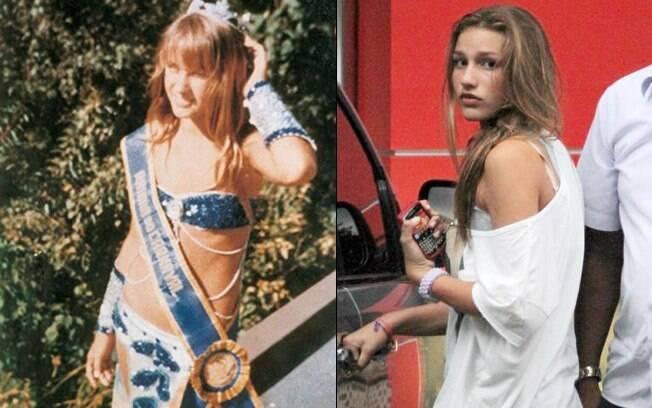 Xuxa e Sasha: semelhança impressionante