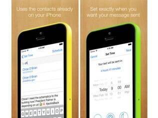 Disponível para iOS, Later permite que usuário programa envio de mensagens, e-mails e até postagens no Twitter