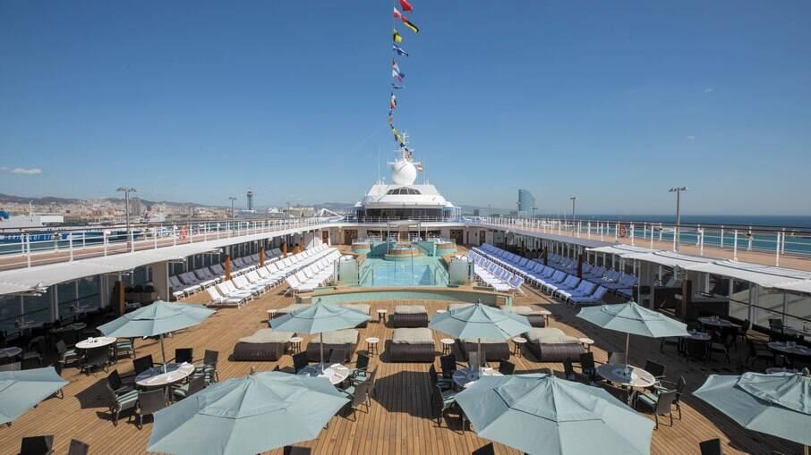 Deck do navio