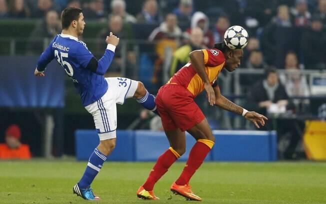 Schalke e Galatasaray duelaram nesta  terça-feira no jogo de volta das oitavas da  Champions