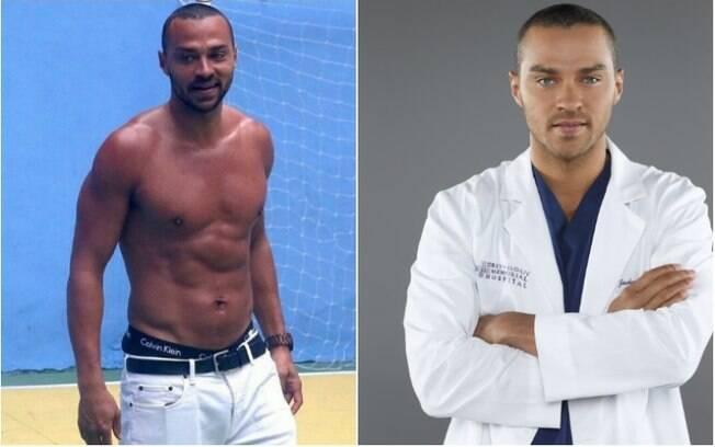 Jesse Williams, de Grey's Anatomy, está no Brasil, já passou por Fortaleza e agora está no Rio de Janeiro